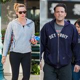 Jennifer Garner e Ben Affleck fanno un passo esclusivamente fuori in LA lo stesso giorno