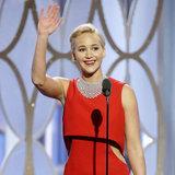5 cose divertenti Jennifer Lawrence hanno detto dietro le quinte ai globi