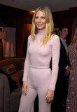 Gwyneth Paltrow incanala la sua Barbie interna ad una serata di Hollywood