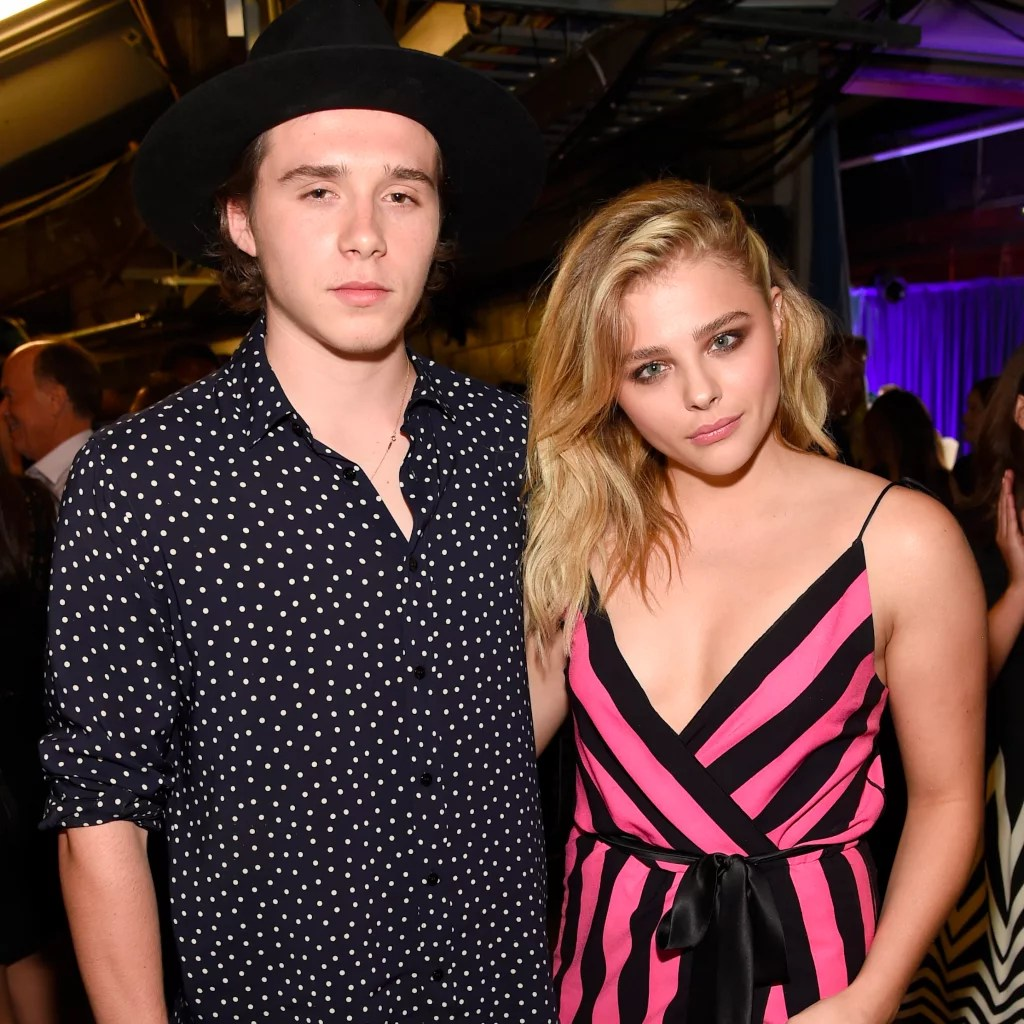 Image result for Chloe Grace Moretz and Brooklyn Beckham teen choice awards 2016