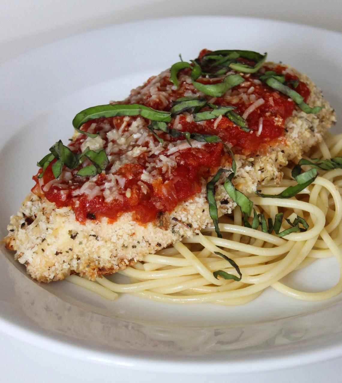 Healthy Chicken Parmesan | POPSUGAR Fitness UK