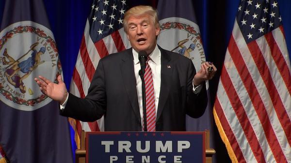 Vet Gives Trump Purple Heart - NBC News