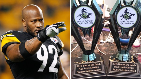 Steelers linebacker James Harrison won't let his kids have ...