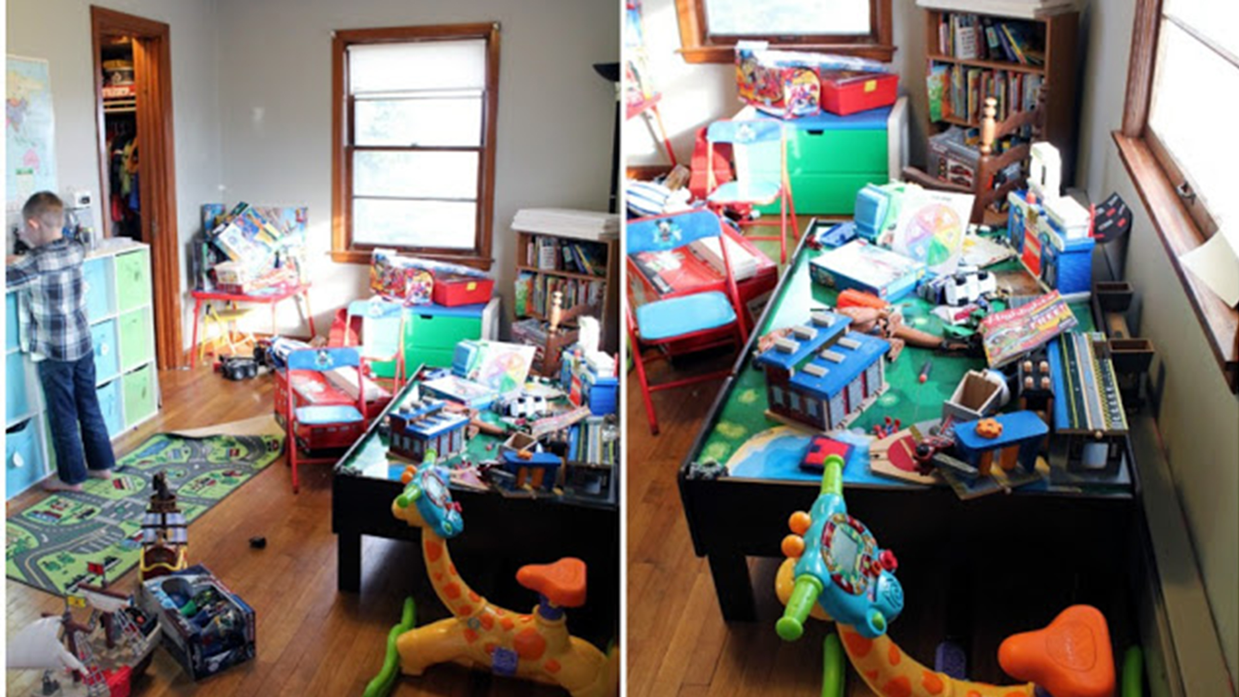 See This Playroom Go From Disorganized To Dreamy