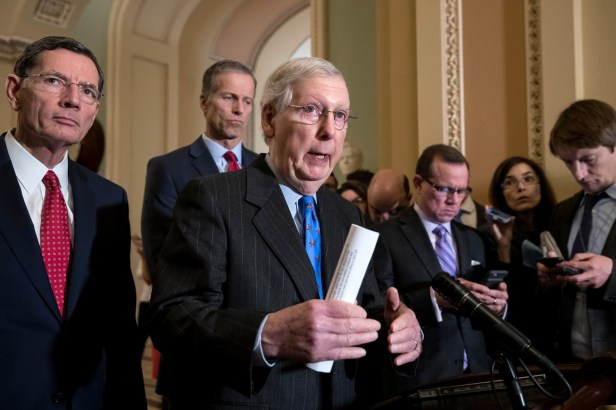 The shutdown ball is now in Mitch McConnell's court