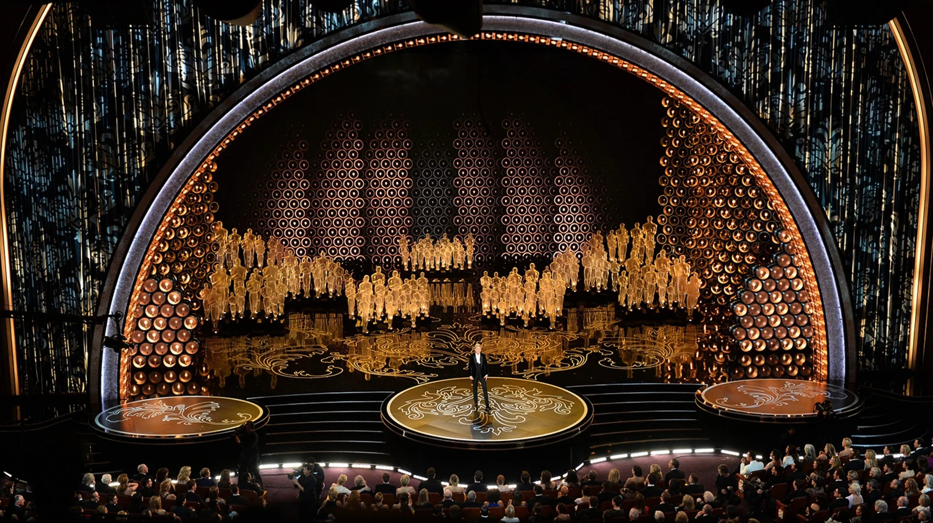 86th Academy Awards Stage
