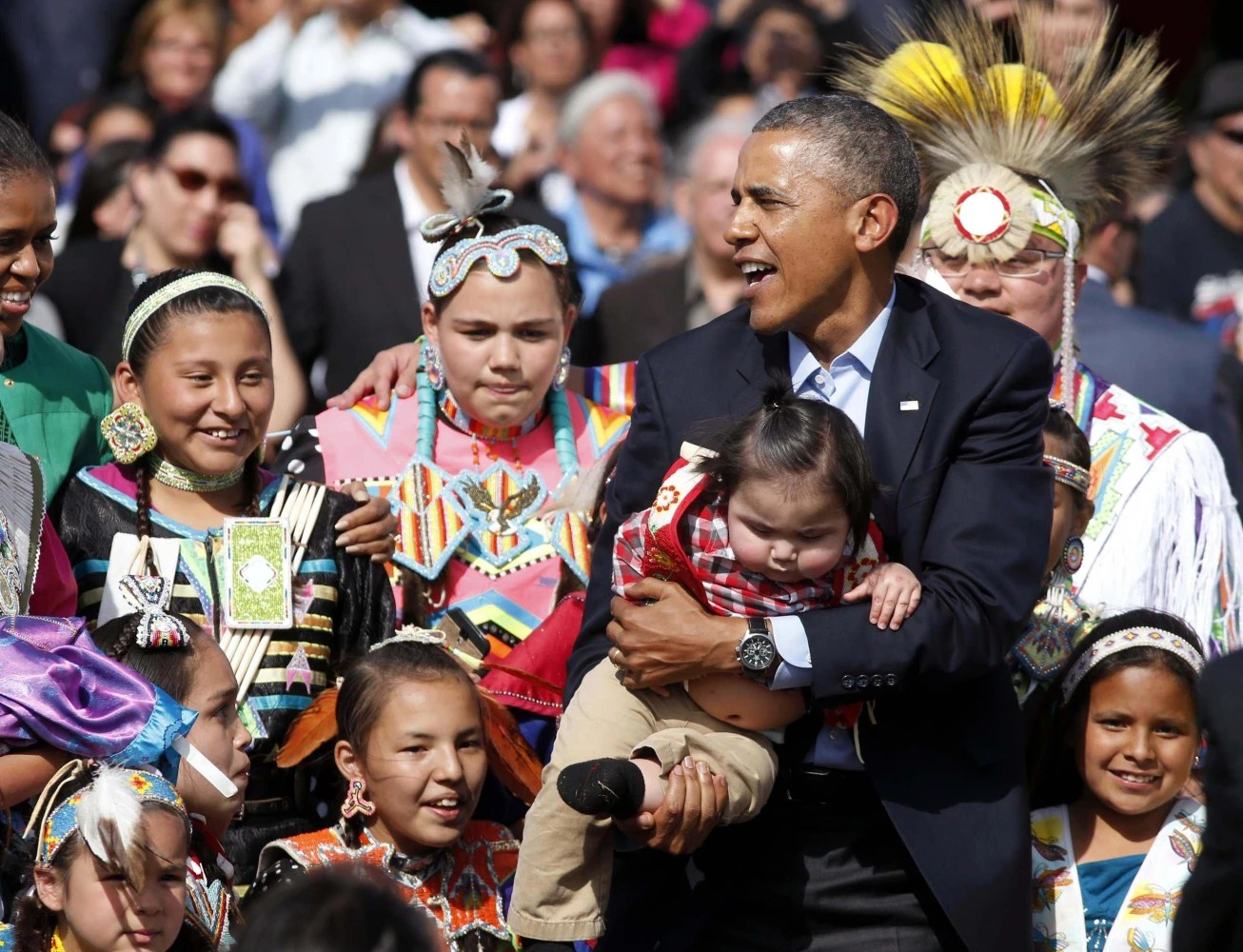 Obama Says U S Can Do More To Help Native Americans