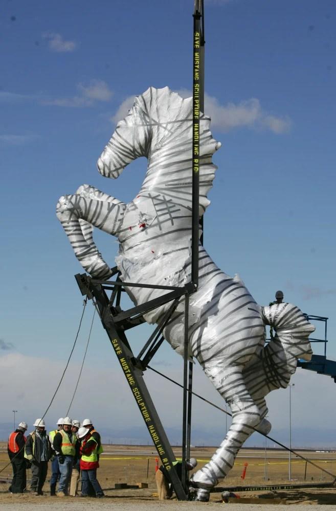 New Mexico Wants Home Of Famous Sculptor Luis Jimenez