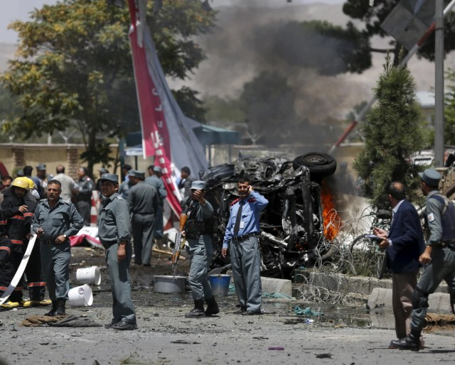DEADLY BOMB ATTACK HITS AFGHANISTAN