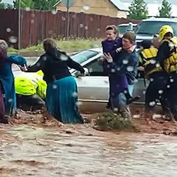 Image: Flash flood in Hildale, Utah