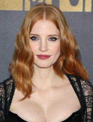 jessica chastain hair how to her lob haircut