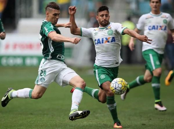 Image: Chapecoense defender Alan Ruschel