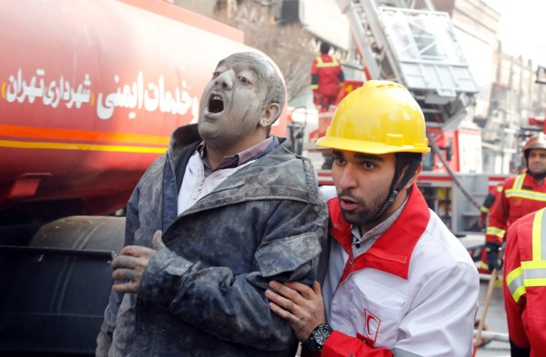 Tehran's Iconic Plasco Building Collapses After Fire; 30 ...