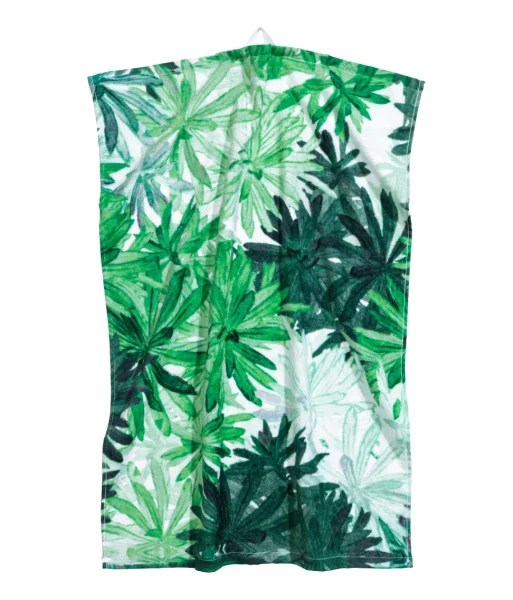 printed hand towel from H&M featured on Today Show deals