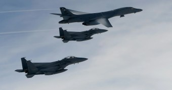 U.S. bombers conduct exercise in South Korea in show of force to North