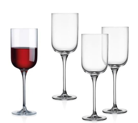 Jill's Steals and Deals wine glasses seen on The Today Show