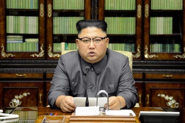 Image: North Korea's leader Kim Jong Un