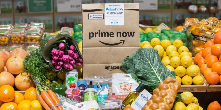 Skip the line at Whole Foods! Amazon launches 30-minute grocery pickup