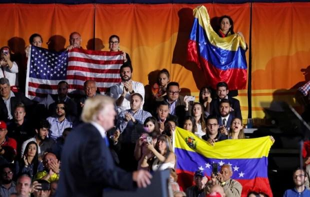Image result for president trump on Venezuela