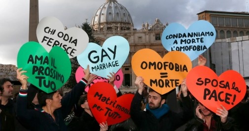Lawyers ask Vatican to denounce criminalization of homosexuality