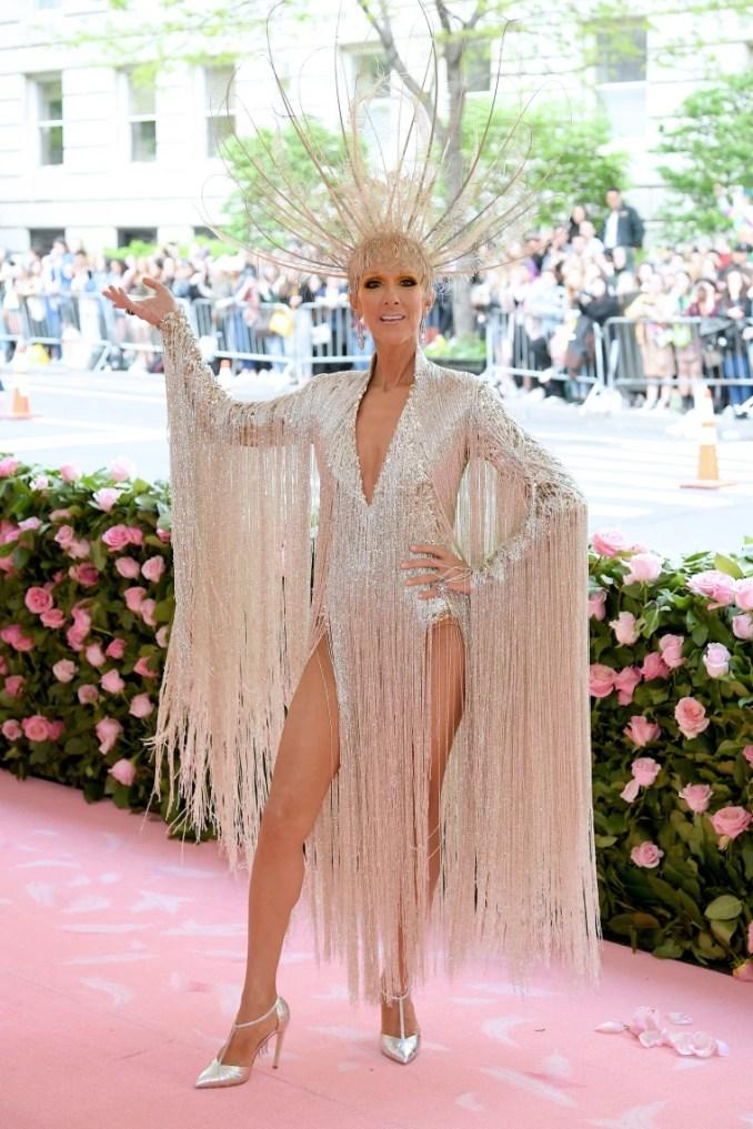 Celine Dion, 2019 Met Gala, Celine Dion style, Celine Dion fashion