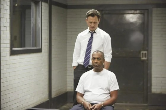 "Joe Morton and Tony Goldwyn in ""Scandal."""