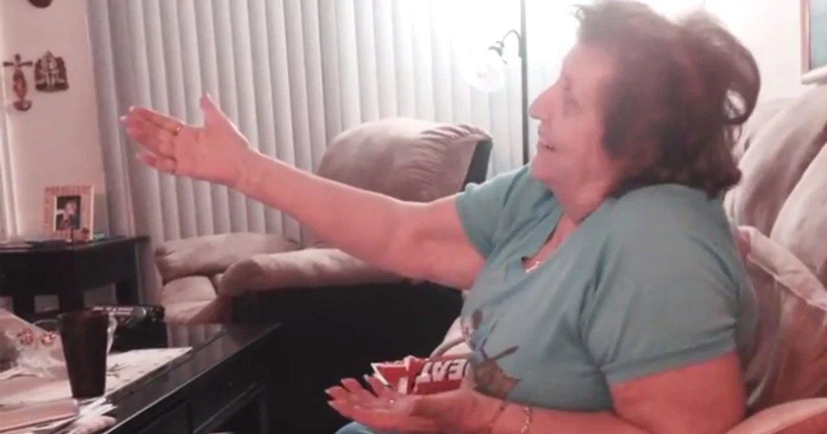 Grandmother 89 Cheers On Miami Heat In Video I Really Go Crazy