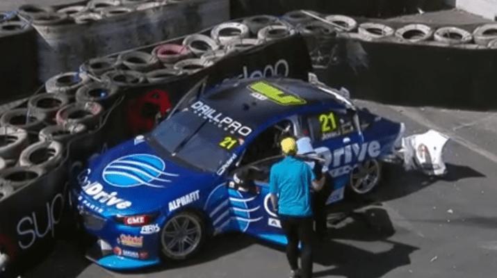 Jones Lucky After Biggest Ever Crash Car Repai