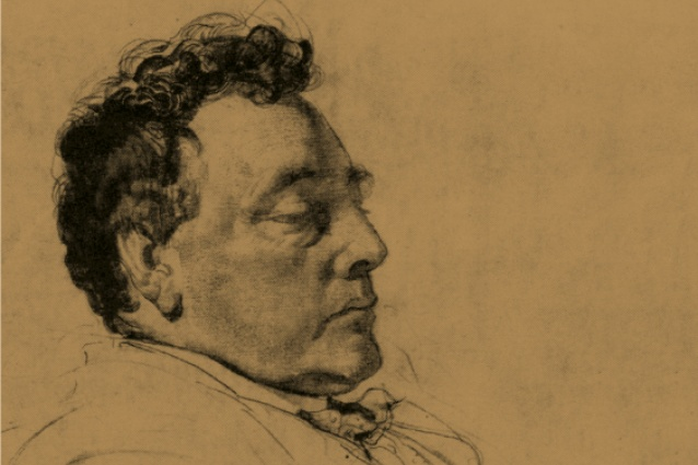 Harold Desbrowe-Annear, pencil drawing by the late Geo. W. Lambert.