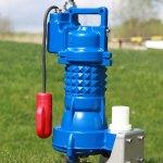 AGRO G272 urinpump med skärande funktion i gjutgärn