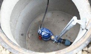 Pump-urinpump med skärande funktion för dagvatten