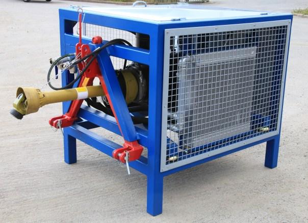 Astimac Kompressor byggd av Rotorcomps delar