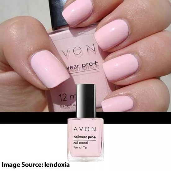 Avon Color Nailwear Pro Plus French Tip Lilac 8 Ml Purplle