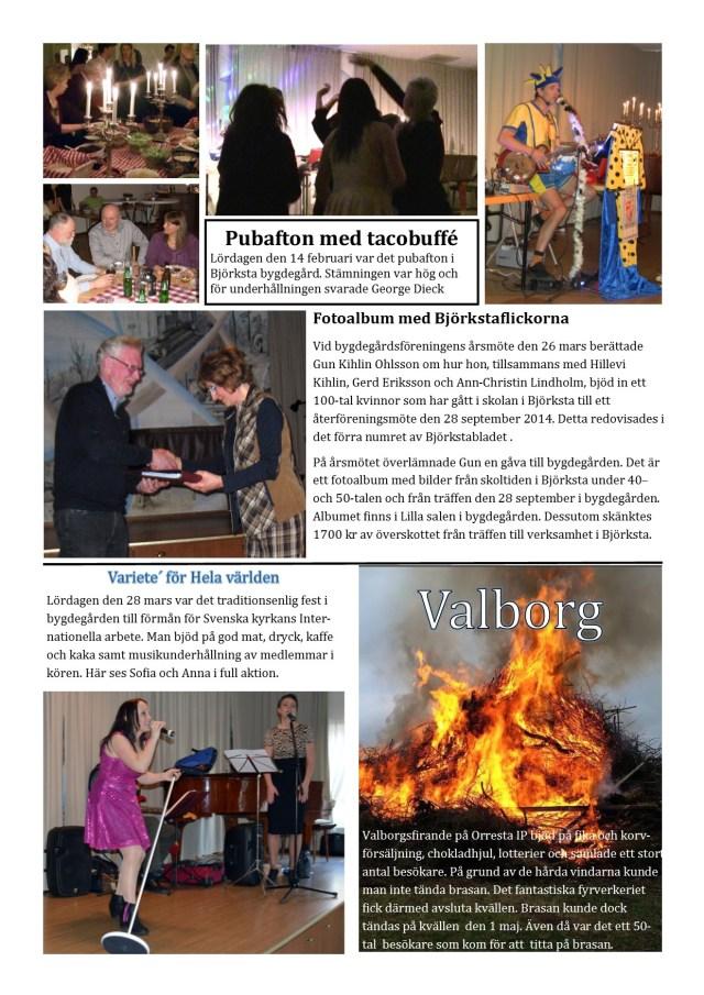 Infoblad 2 maj 2015