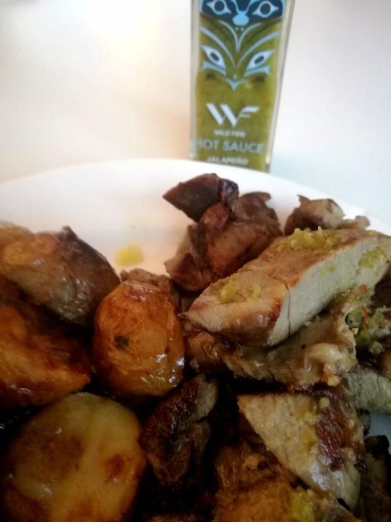 Wild Fire Foods' Jalapeno-saus er utrolig god på det meste av kjøtt og grønnsaker