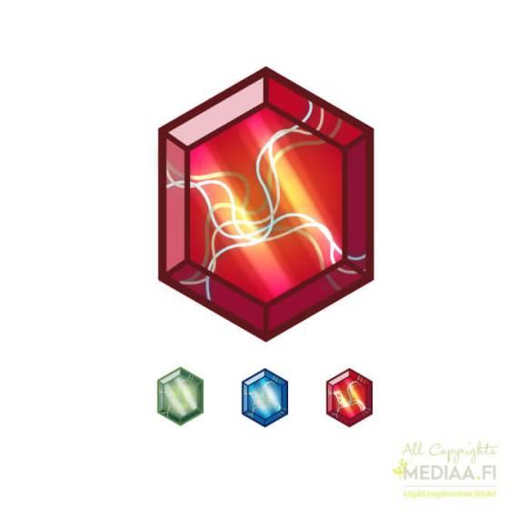 Logo: Aarre - Suunnittelija Simon Geisor