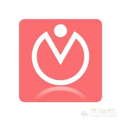 Logo: Horjumaton - Suunnittelija Maija Luomala