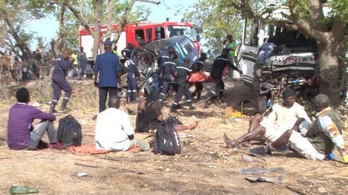 Touba/Accident de la route : Un camion se renverse et fait près de 50 blessés dont 7 graves