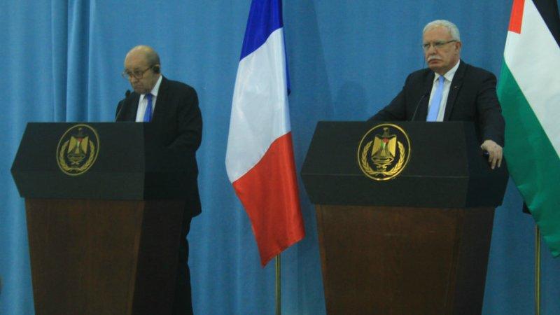 Conflit israélo-palestinien : Paris appelle à un usage «proportionné de la force»