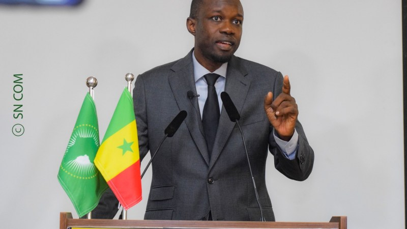 """Ousmane Sonko : """"Le Sénégal n'a pas de problème de terrorisme"""""""