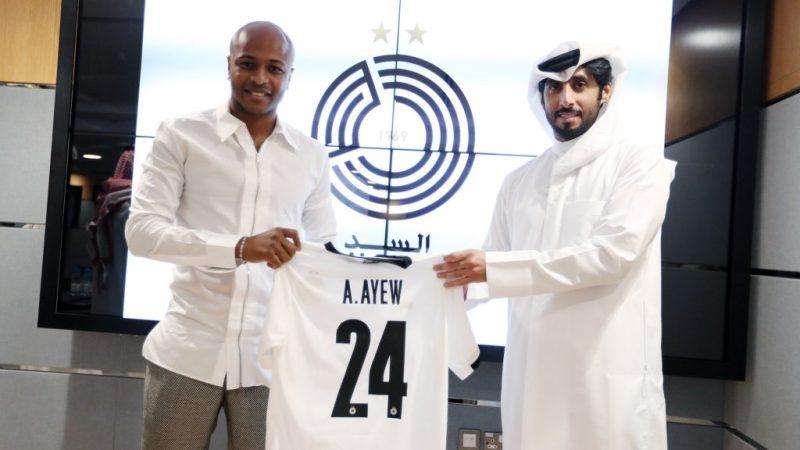 Qatar : André Ayew signe à Al Sadd pour 2 ans