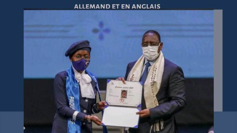 Remise des prix Du Concours Général 2021/Sénégal : Les meilleurs élèves du Sénégal célébrés au Grand Théâtre