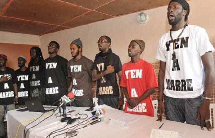 Le mouvement Y en a marre apporte son soutien au groupe D-Media