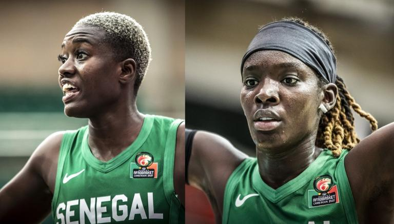 Afrobasket 2021 : Yacine et Lena cartonnent face à l'Égypte