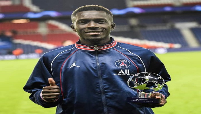 PSG-Man City : Gana élu homme du match