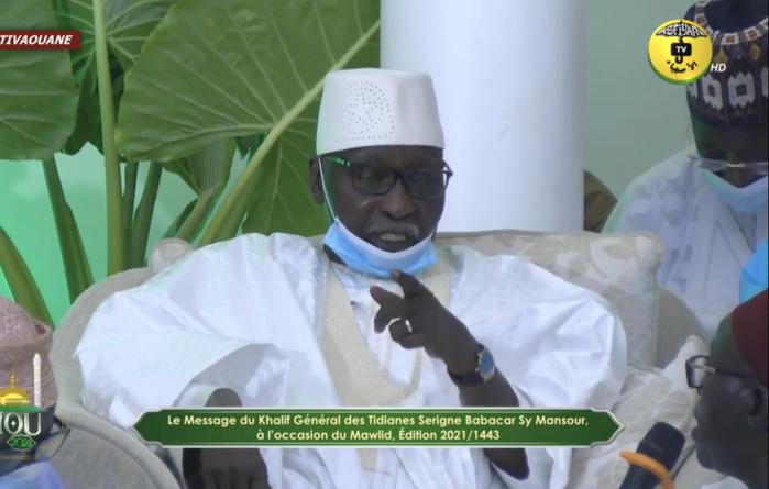 Locales 2022 : le khalife général des Tidianes invite les acteurs politiques à œuvrer pour la paix