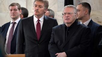 Жириновский и Песков провидец и телепат