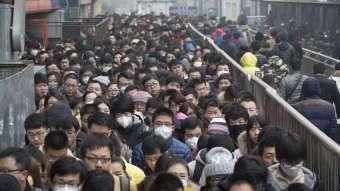 В Китае опять коронавирус