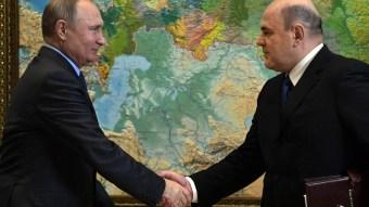 Путин и Мишустин