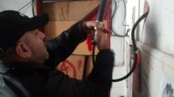 Antena Negra Policía desconecta transmisor